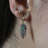 Julie Cohn Abalone Petite Leaf Earrings