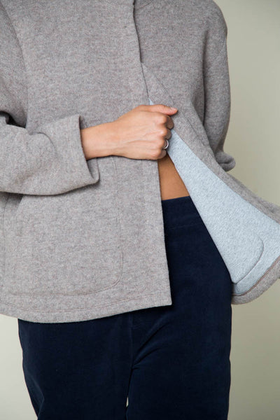 Shosh taupe/gray double face knit cardigan found at PATRICIA in Southern Pines, NC