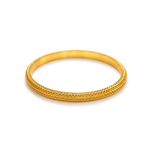 Julie Voz Gold Baroque Bangle