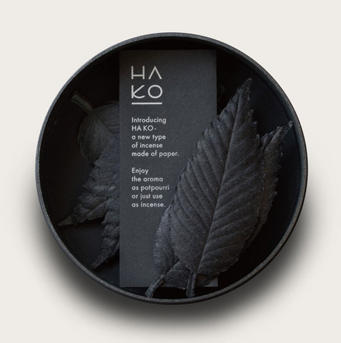 POJ Studio Hako Incense Black- Focus