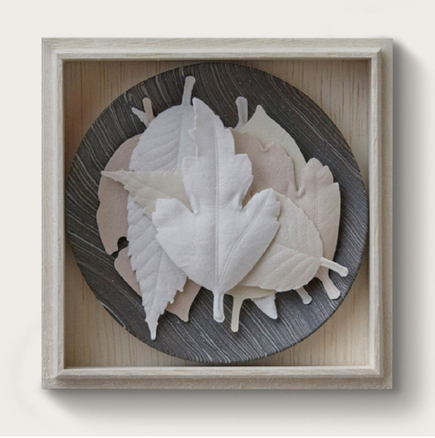 POJ Studio Hako Incense Grey Plate
