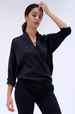 Classic Twist Blouse by Natalie Busby