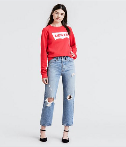Levi's Wedgie Straight Authentically Yours