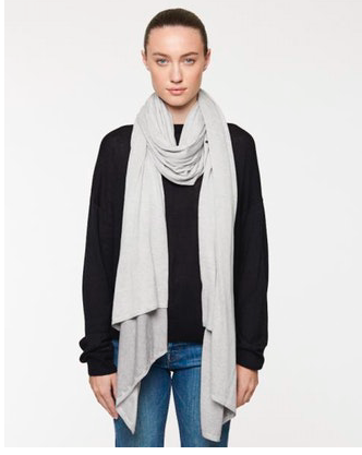 Line Calista Knit Scarf in Overcast