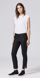 Shosh fitted ankle pant in black