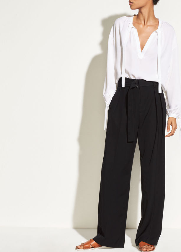 Vince Belted Wide Leg  Pant