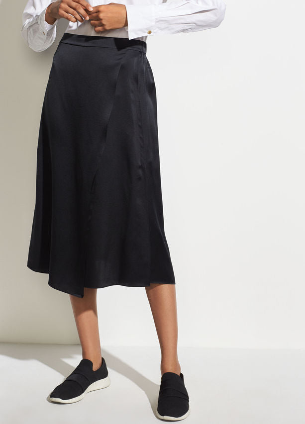 Vince Black silk Drape Panel Skirt found at PATRICIA in Southern Pines, NC