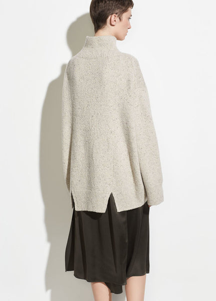 Vince Oversized Cashmere Turtleneck Sweater