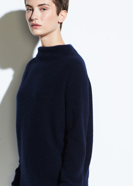 Vince Funnel Neck Sweater Coastal Blue