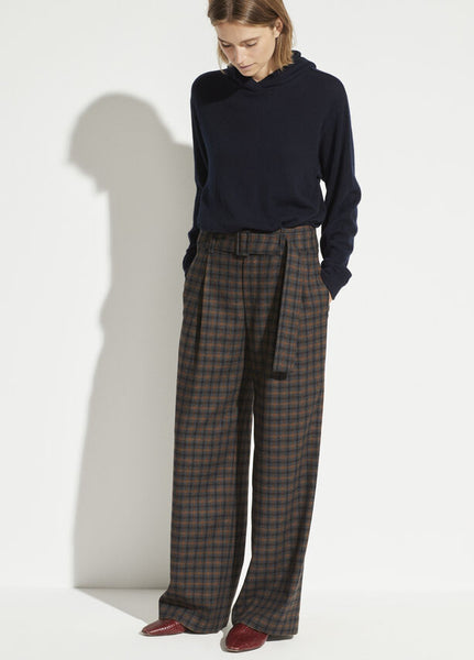 Vince Belted Plaid Pant at PATRICIA in Southern Pines, NC