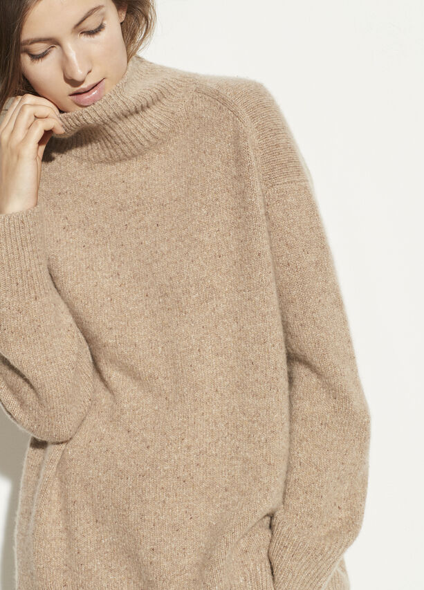 Vince Camel double slit cashmere turtleneck sweater found at Patricia in Southern Pines, NC