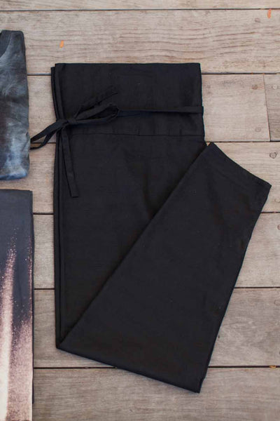 Emerson Fry | Wrap Pant - Black
