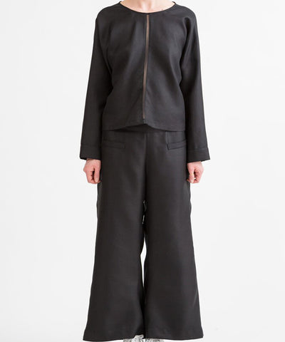 Shosh Flare Cropped Wide-leg Pant