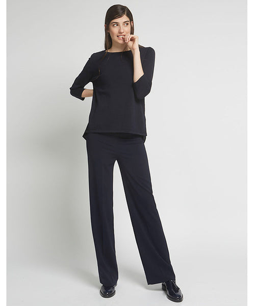 Avenue Montaigne | Flavia Pant Navy