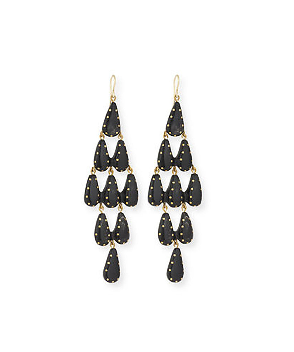 Ashley Pittman Densi Earring Dark Horn