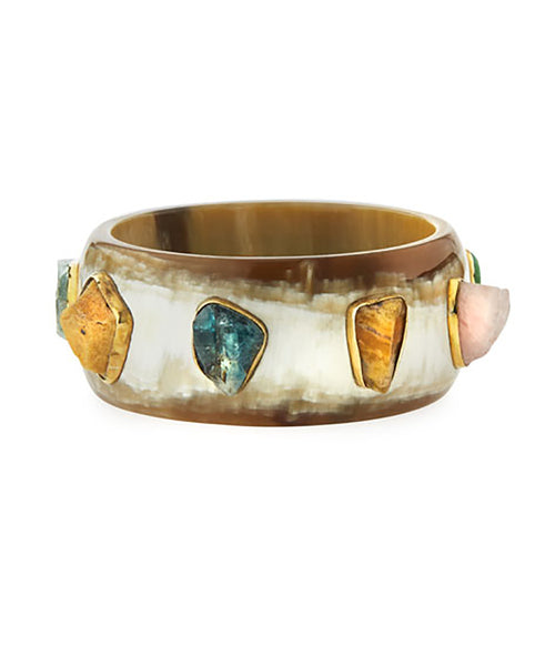 Ashley Pittman Furahi Bangle Light Horn
