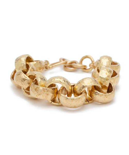 Ashley Pittman Usawa Bronze Clamp Bracelet