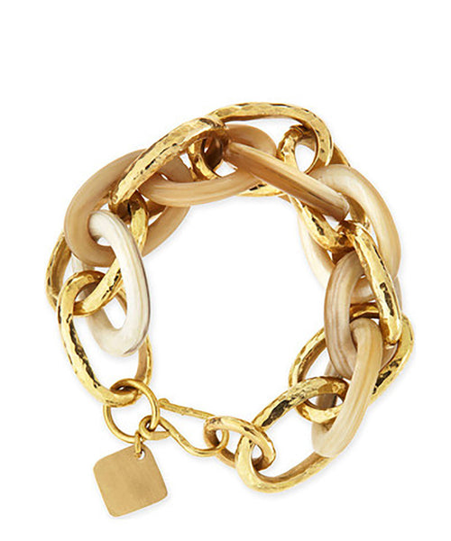 Ashley Pittman Ndovu Link Bracelet Light