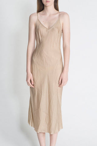 Organic Bias Long Slip in Nude
