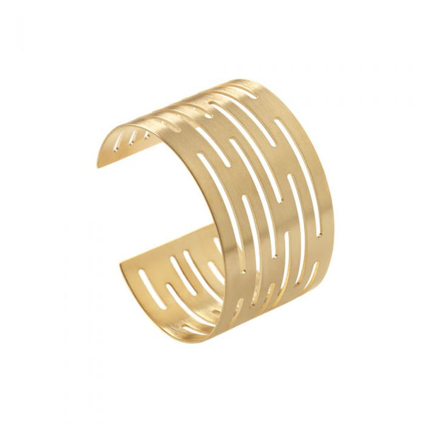 CATHs Bronze Laser Cuff