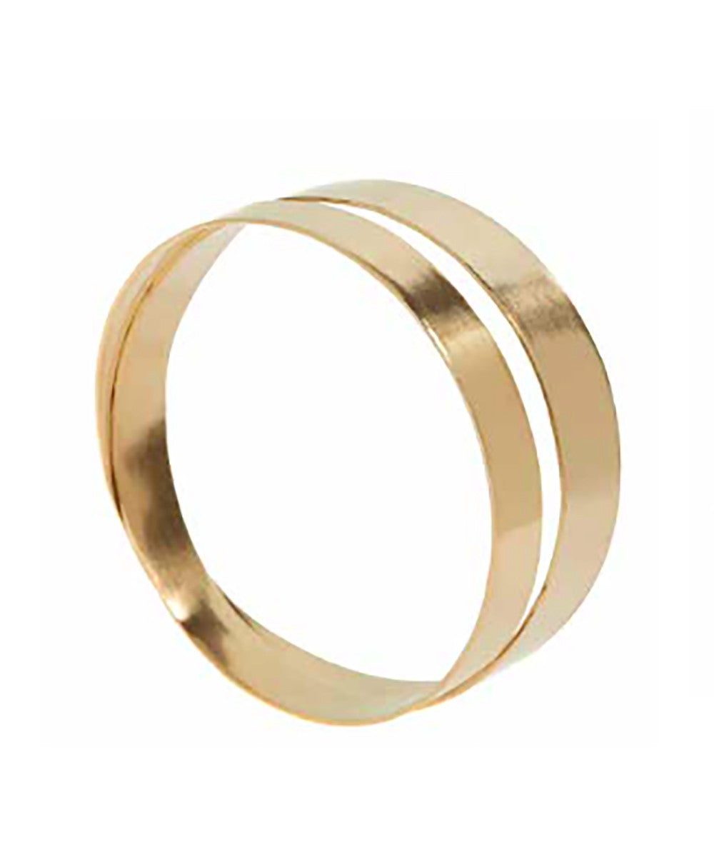 CATHs Brass Double Ring Bracelet