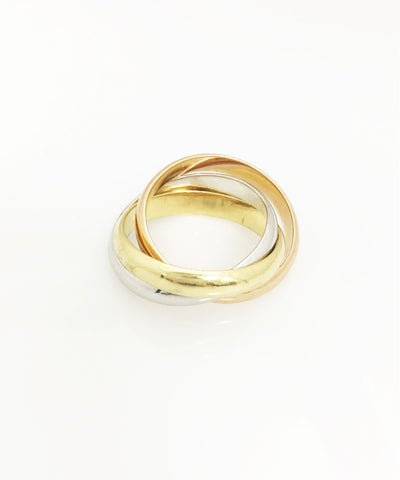 Handmade 18K Roll On Ring