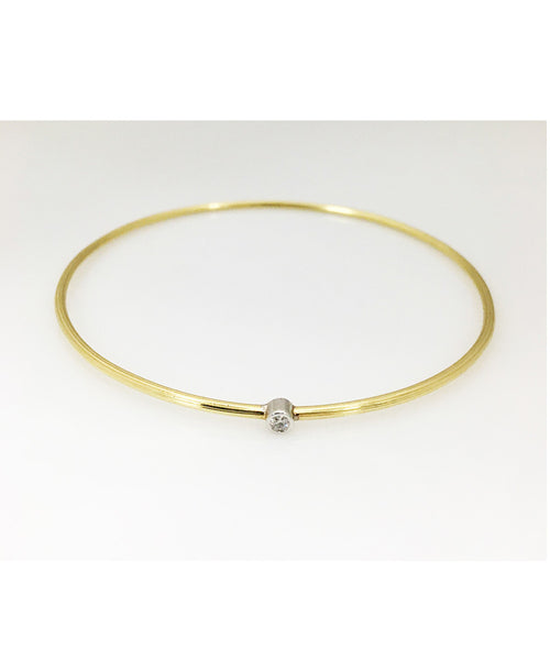 18KYG Bracelet with Diamond