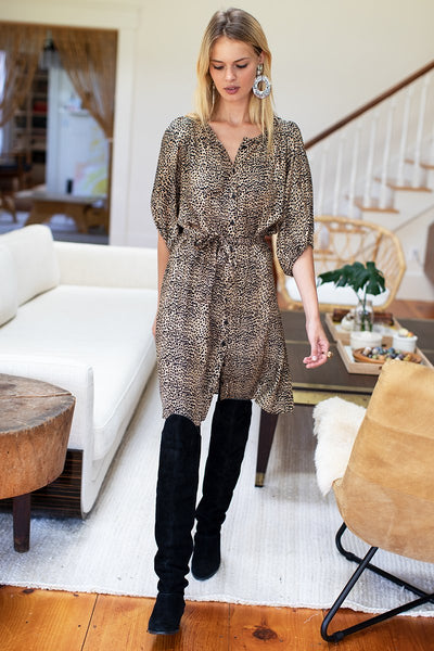 Emerson Fry Fiona Dress in Cheetah