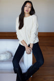Emerson Fry Carolyn Sweater Ivory
