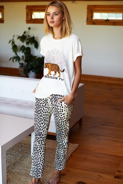 Emerson Fry Jagger Pant Leopard