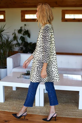 Emerson Fry London Coat Leopard