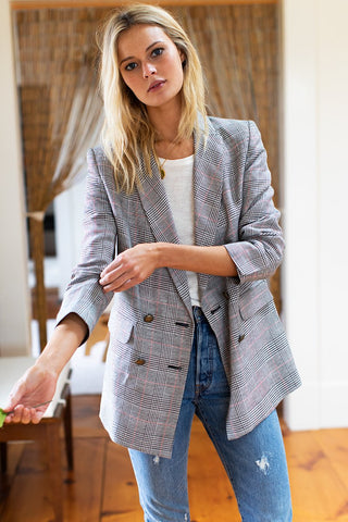 Emerson Fry Plaid Lee Jacket