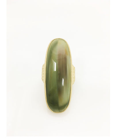 Heather Benjamin | Imperial Jasper Slice of Heaven Ring