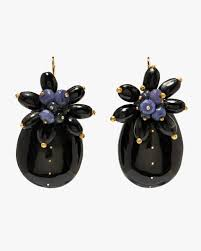 Ashley Pittman Kizingo Earring, Dark Horn