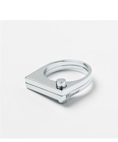 Miansai | Modern Flat Ring Sterling