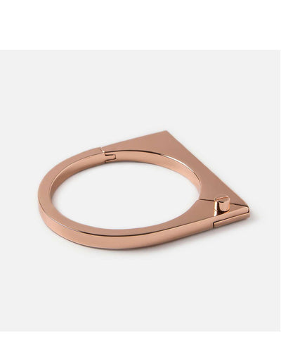 Miansai | Modern Flat Cuff Rose Plated