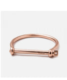 Miansai | Screw Cuff Rose Gold Plated