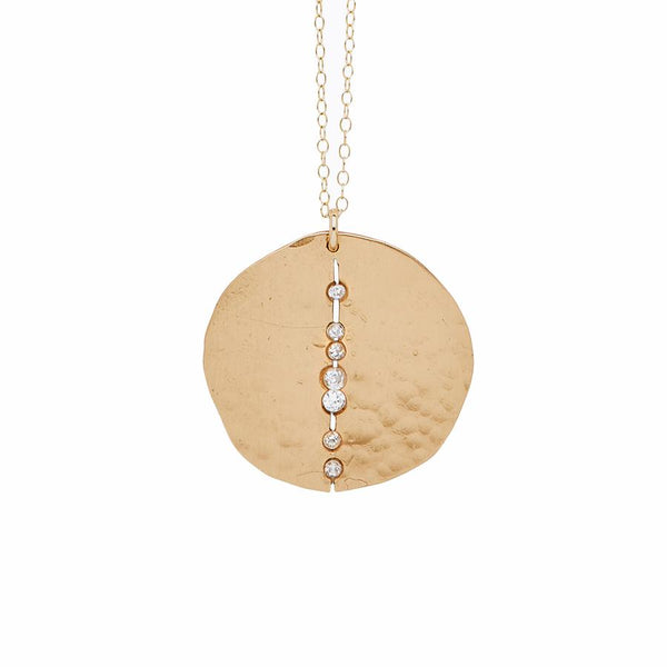 Julie Cohn Bronze Orbit Necklace