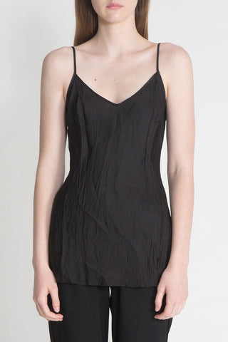 Organic Bias Camisole in Black