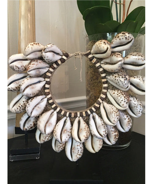 Indonesian Tiger Shell Tribal Necklace