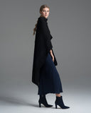 black wool marisol duster by Voz at Patricia