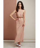 VOZ Cami Slip Dress Dusty Rose