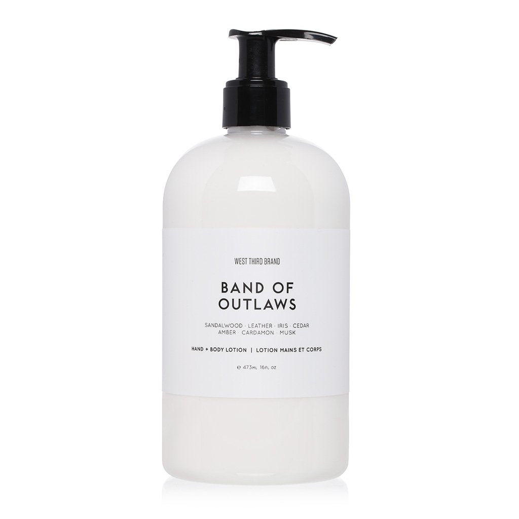 W3B Band of Outlaws Bath + Body Lotion