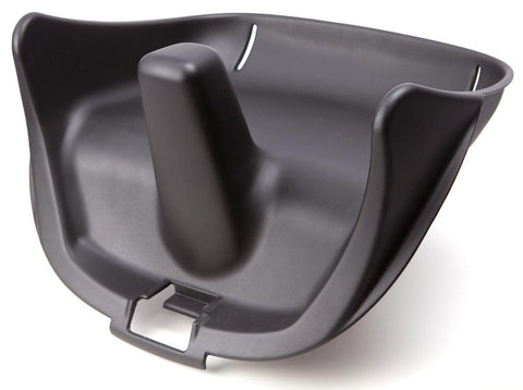 fresco chrome booster seat - black