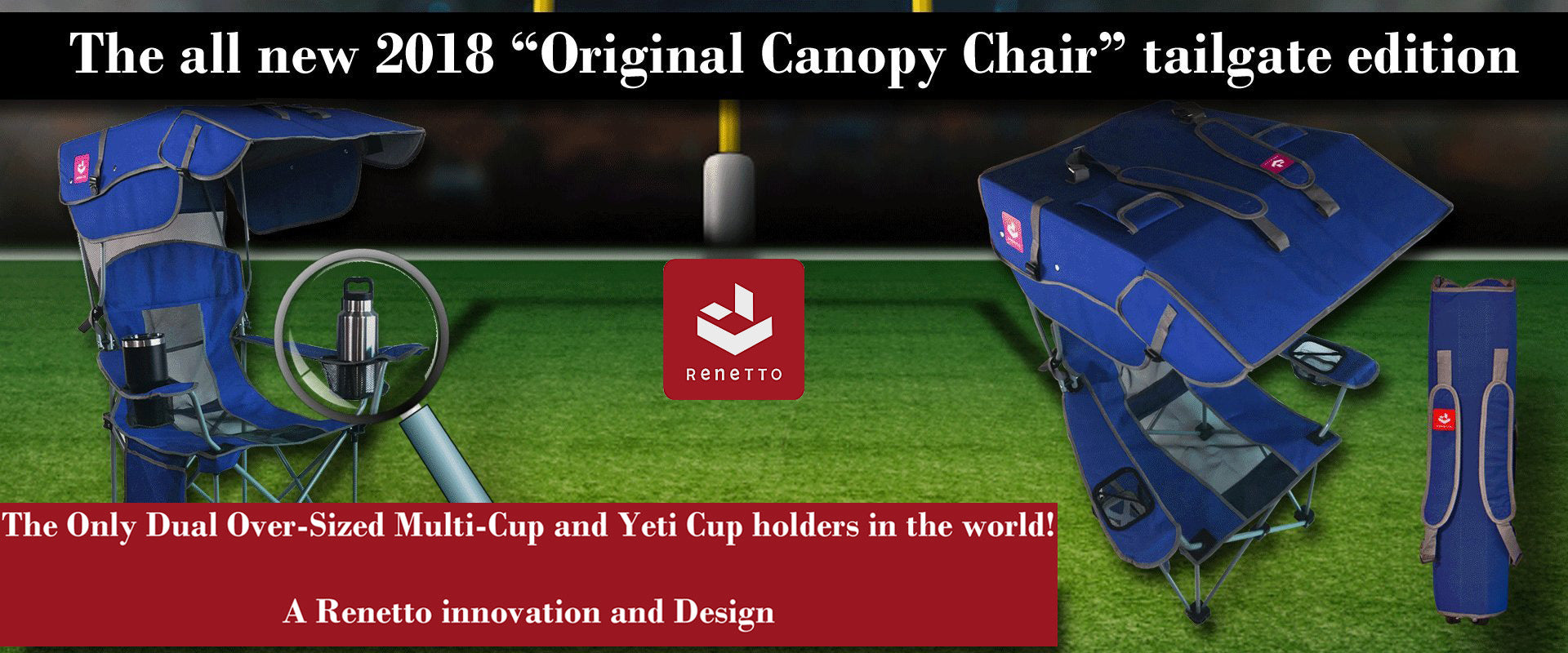 Original Canopy Chair Tailgate Edition