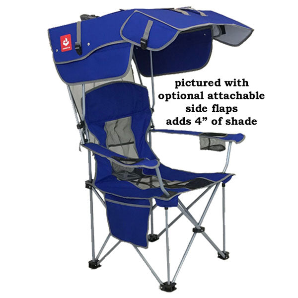 "Original Canopy Chair 3rd Generation ""Tailgate edition"" - Renetto Original Canopy Chair Backpack Beach Chair"