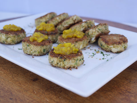 Mrs Sassard's Lowcountry Crab Cakes
