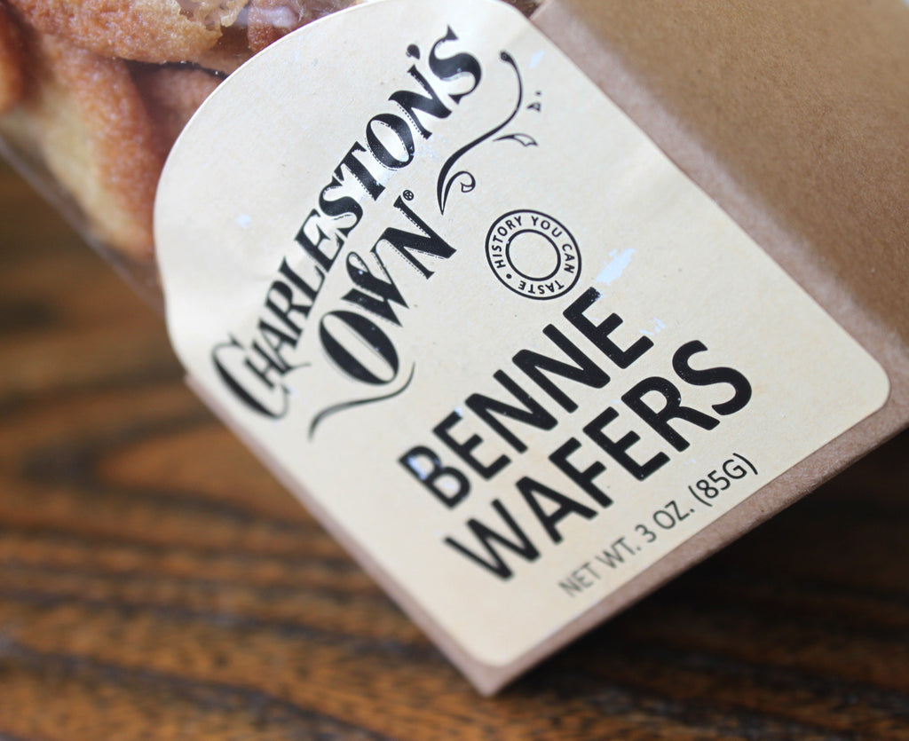 Charleston's Own Benne Wafer, 3 oz Package