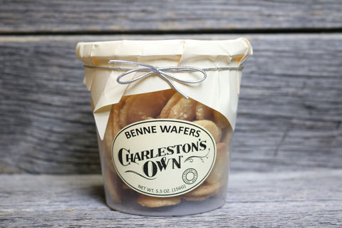 Charleston's Own Benne Wafer Cookie