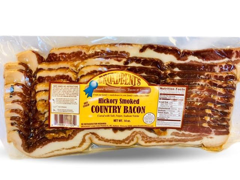 Broadbent Smoked Country Bacon